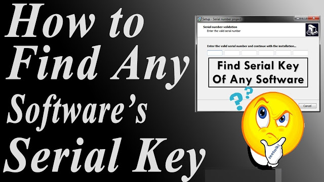 How To Find Product Key Of Any Software (Google Search Hack)