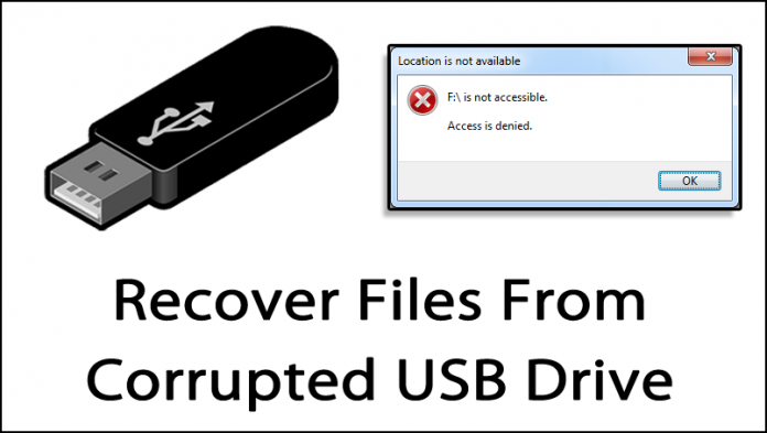 How To Create Data Recovery From Corrupted USB Drive