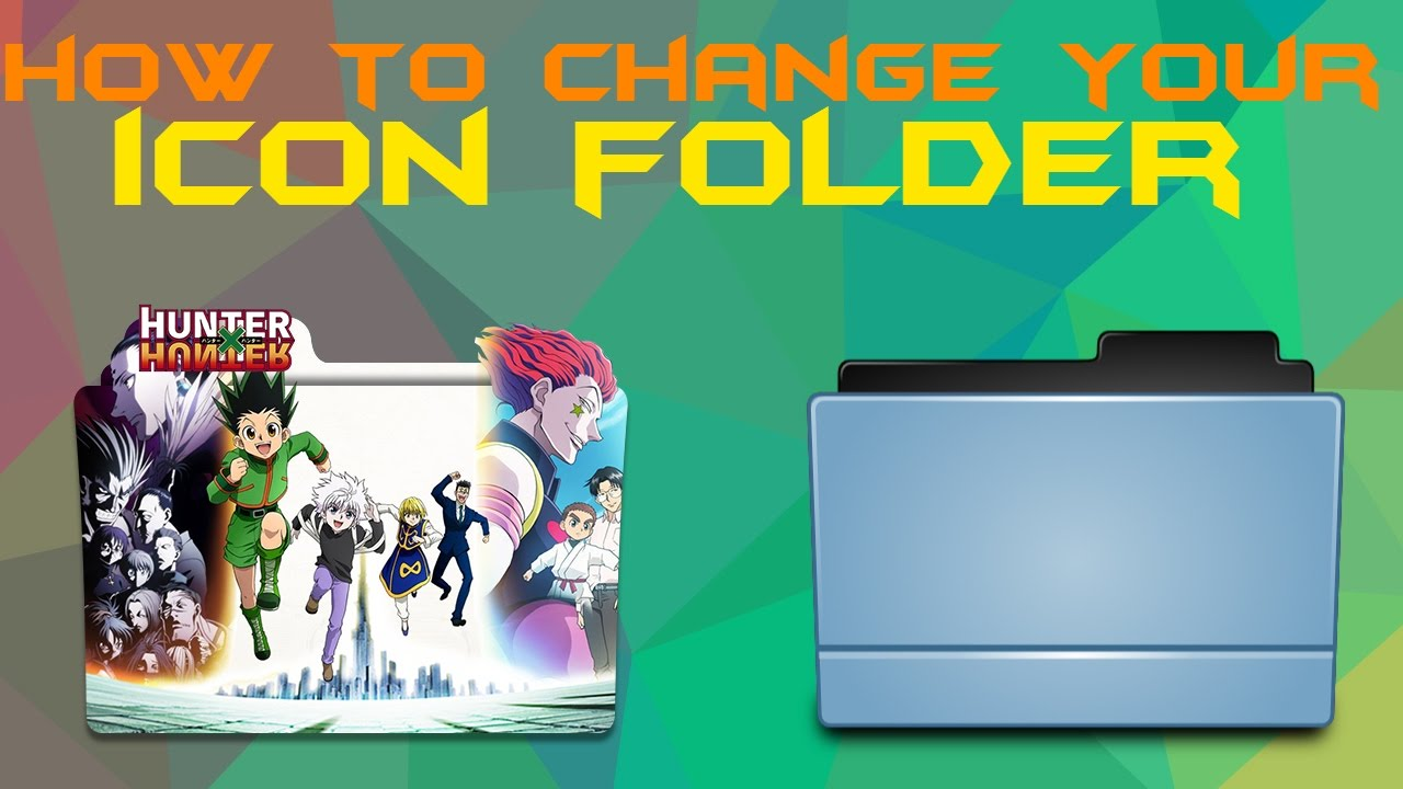 How To Change Folder Icon Windows 7