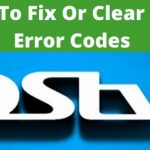 DStv Error Codes